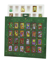 Fill with Candies Christmastime Advent Calendar