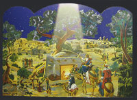 Three Wise Men Advent Calendar 3D