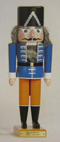 1870 Hussar German Wooden Nutcracker