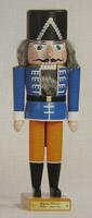 1870 Hussar German Wooden Nutcracker