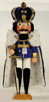 Crowned King Ludwig Nutcracker