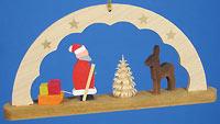 Arch Ornament with Santa