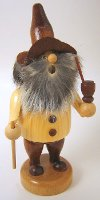 Jolly Wood Gnome German Incense Smoker