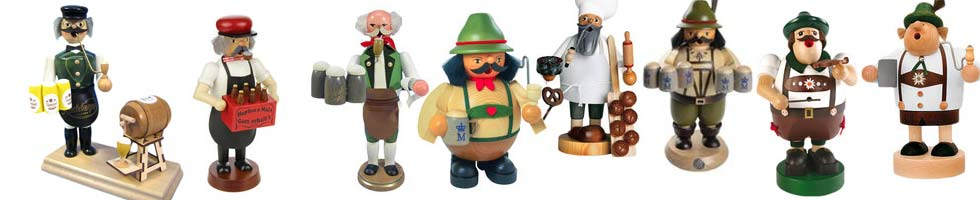 German Oktoberfest Incense Burners
